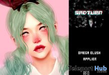 Cute Blush Makeup Omega Applier 10L Promo by SADTURN- Teleport Hub - teleporthub.com