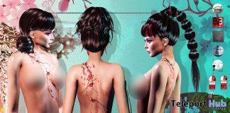 Sakura Body Tattoo Appliers September 2019 Group Gift by PiCaZZo- Teleport Hub - teleporthub.com