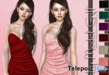 Strapless Dress Fatpack September 2019 Group Gift by Petry Model Store- Teleport Hub - teleporthub.com