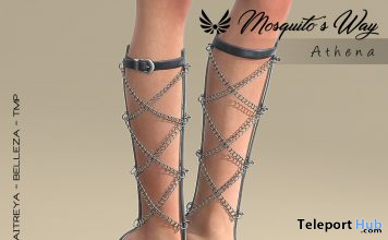 Athena Heels September 2019 Group Gift by Mosquito's Way - Teleport Hub - teleporthub.com