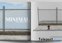 Street & Fence Backdrop September 2019 Group Gift by MINIMAL- Teleport Hub - teleporthub.com