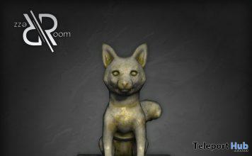 Dog Statue September 2019 Group Gift by Rezz Room- Teleport Hub - teleporthub.com