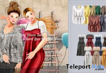 Back Lace-up Midi Dress & Tunic Blouse 50% Off Promo by {amiable} @ ACCESS Event September 2019- Teleport Hub - teleporthub.com