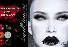 Creepy Halloween Eyes Omega Applier September 2019 Group Gift by Lupus Femina - Teleport Hub - teleporthub.com