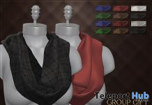 Neck Scarf Fatpack September 2019 Group Gift by ANTAYA - Teleport Hub - teleporthub.com