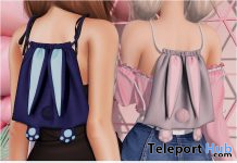 Bunny Backpack September 2019 Group Gift by Safira - Teleport Hub - teleporthub.com