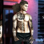 Robot Tattoo Commotion Event September 2019 Group Gift by Inker - Teleport Hub - teleporthub.com