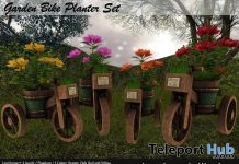Garden Bike Planter Set 1L Promo by Lacrime dell'anima - Teleport Hub - teleporthub.com