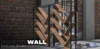 Bookcase Divider September 2019 Group Gift by Fourth Wall- Teleport Hub - teleporthub.com