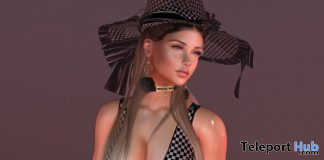 Dress, Hat, & Broom September 2019 Group Gift by Ewa Boutique - Teleport Hub - teleporthub.com