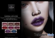 Karina Lipgloss For Genus Mesh Head September 2019 Group Gift by LePunk- Teleport Hub - teleporthub.com