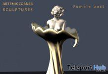 Female Bust Teleport Hub Group Gift by Artemis Corner Sculptures- Teleport Hub - teleporthub.com
