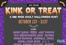 Kink or Treat Adult Halloween Hunt 2019 - Teleport Hub - teleporthub.com