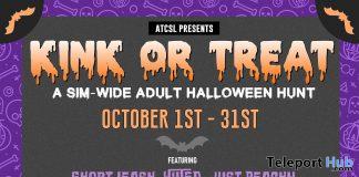 Kink or Treat Adult Halloween Hunt 2019- Teleport Hub - teleporthub.com