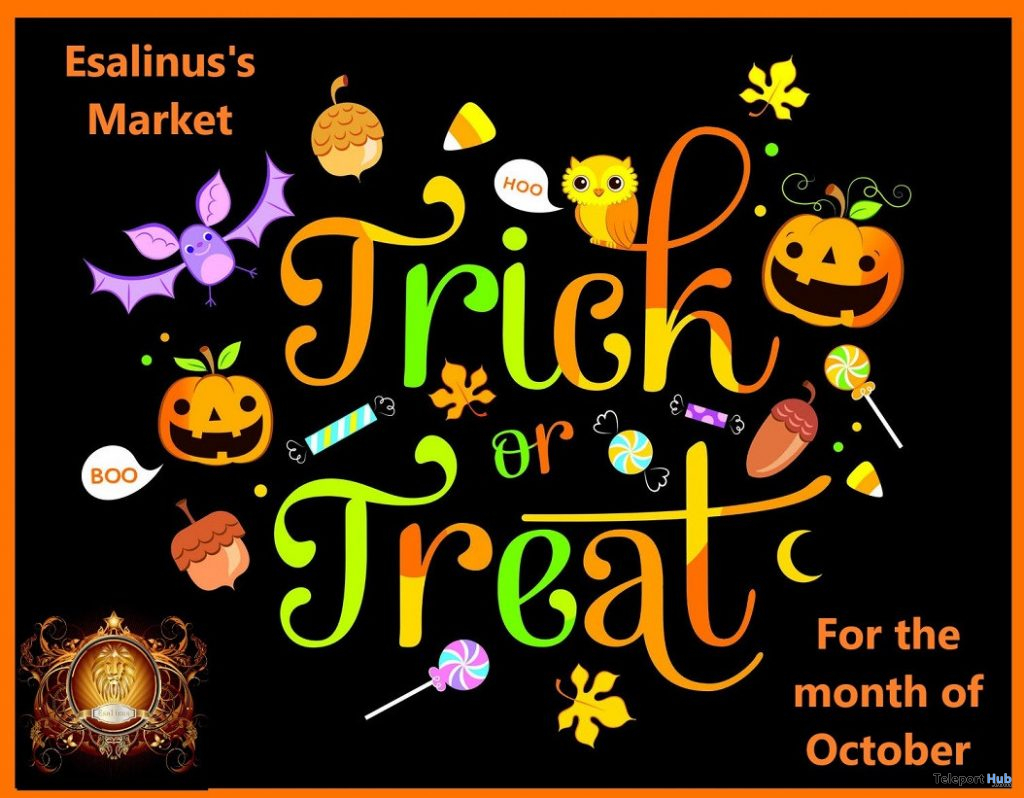 Trick or Treat 2019 Event at Esalinus Market - Teleport Hub - teleporthub.com