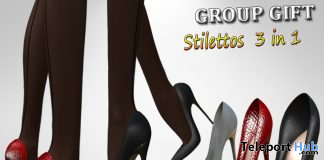 Latex Stilettos 3 In 1 September 2019 Group Gift by Velvets Dreams - Teleport Hub - teleporthub.com