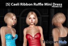 New Release: [S] Caeli Ribbon Ruffle Mini Dress by [satus Inc] - Teleport Hub - teleporthub.com