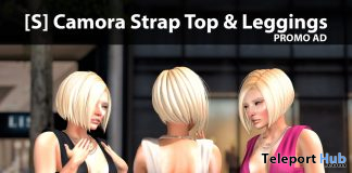 New Release: [S] Camora Strap Top & Leggings by [satus Inc] - Teleport Hub - teleporthub.com