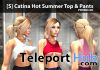 New Release: [S] Catina Hot Summer Top & Pants by [satus Inc] - Teleport Hub - teleporthub.com