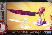 Scary Pyramid Cake Full Perm 1L Promo Gift by EFE DESIGN - Teleport Hub - teleporthub.com