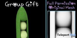 Full Perm Pea Pod Pillow September 2019 Group Gift by Sherbert- Teleport Hub - teleporthub.com