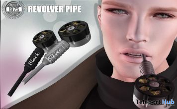 Revolver Pipe September 2019 Subscriber Gift by [Since 1975] - Teleport Hub - teleporthub.com