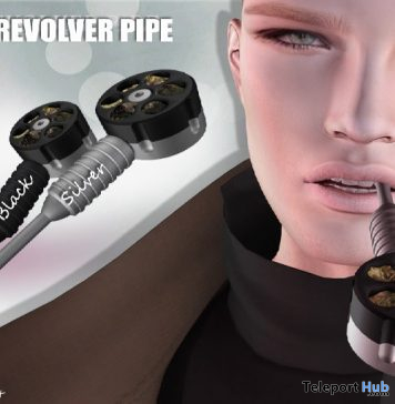 Revolver Pipe September 2019 Subscriber Gift by [Since 1975]- Teleport Hub - teleporthub.com