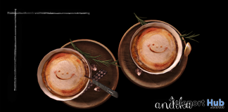 Cafe Latte September 2019 Group Gift by Andika - Teleport Hub - teleporthub.com