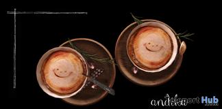 Cafe Latte September 2019 Group Gift by Andika- Teleport Hub - teleporthub.com