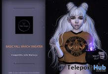 Basic Witch Sweater September 2019 Gift by Star Sugar- Teleport Hub - teleporthub.com