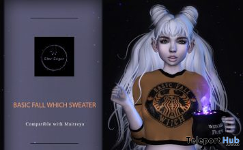 Basic Witch Sweater September 2019 Gift by Star Sugar - Teleport Hub - teleporthub.com