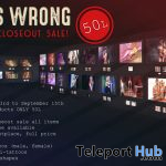 THIS IS WRONG 1st Floor Closeout Sale Event 2019 - Teleport Hub - teleporthub.com