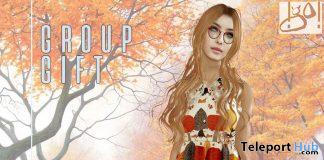 Connie Dress September 2019 Group Gift by !gO!- Teleport Hub - teleporthub.com