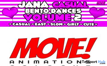 New Release: Jana Casual Vol. 2 Bento Dance Pack by MOVE! Animations Cologne - Teleport Hub - teleporthub.com