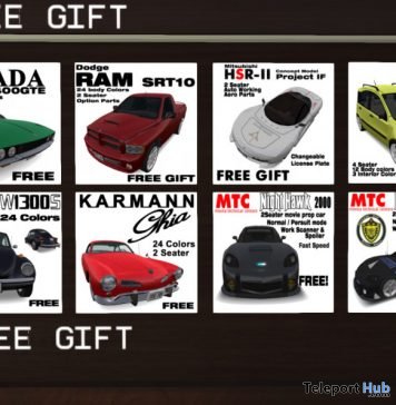 Several Car Gifts by Movita Import Cars - Teleport Hub - teleporthub.com