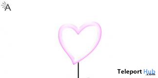 Amour Lamp September 2019 Group Gift by Almita- Teleport Hub - teleporthub.com