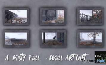 Misty Fall Wall Art Collection September 2019 Gift by ChiC buildings - Teleport Hub - teleporthub.com