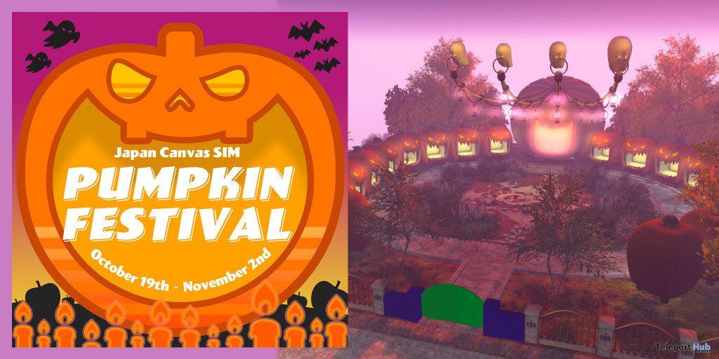 Japan Canvas Sim's Pumpkin Festival 2019- Teleport Hub - teleporthub.com