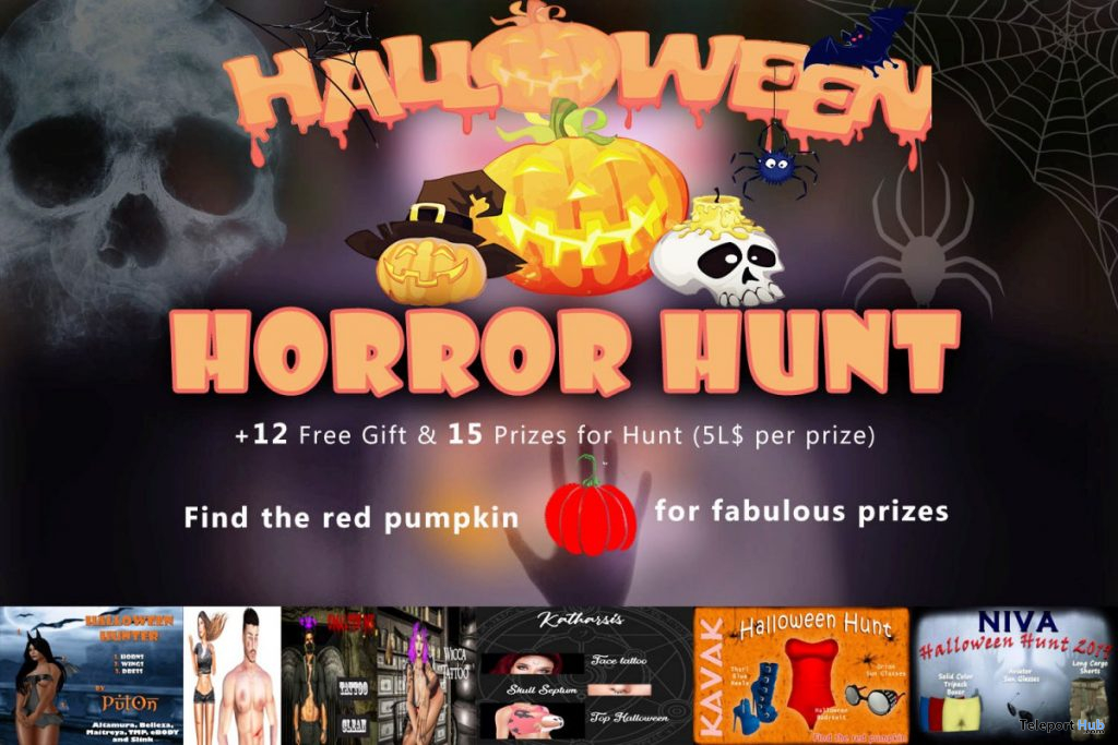 Halloween Horror Hunt 2019 - Teleport Hub - teleporthub.com