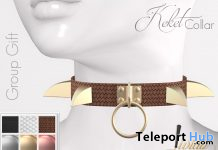Keket Collar October 2019 Group Gift by Livido - Teleport Hub - teleporthub.com