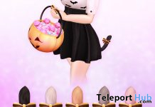 Halloween Neko Tails October 2019 Group Gift by Sweet Thing - Teleport Hub - teleporthub.com