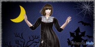 Halloween Dress October 2019 Group Gift by S@BBiA - Teleport Hub - teleporthub.com