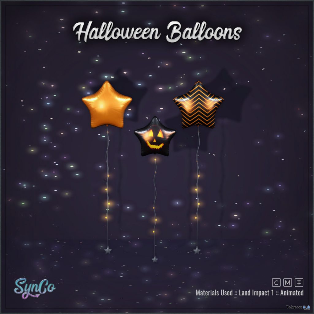 Halloween Balloons Trick Or Treat Lane October 2019 Gift by SynCo - Teleport Hub - teleporthub.com