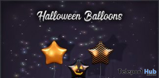 Halloween Balloons Trick Or Treat Lane October 2019 Gift by SynCo- Teleport Hub - teleporthub.com