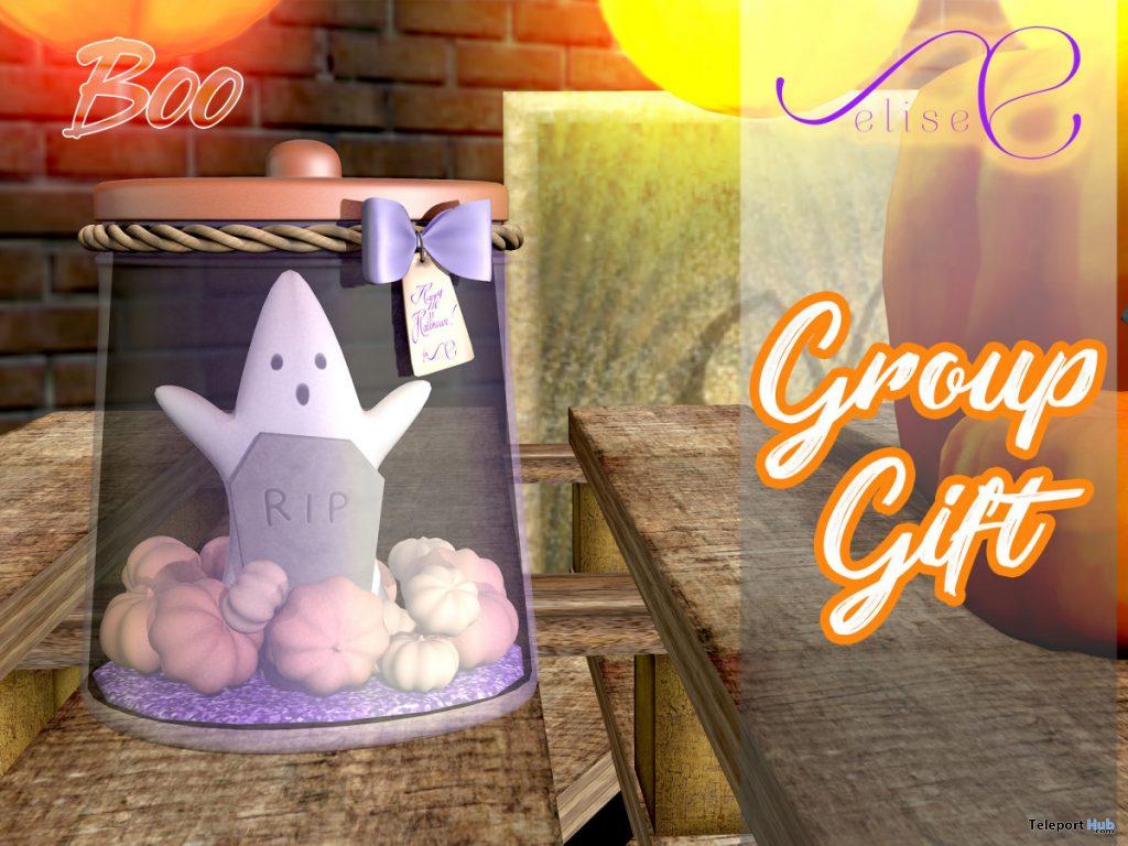 Boo Decor Jar October 2019 Group Gift by elise- Teleport Hub - teleporthub.com