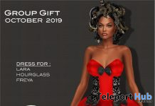 Halloween Dress October 2019 Group Gift by Selene Creations - Teleport Hub - teleporthub.com