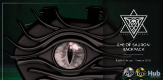 Eye of Sauron Backpack Fatpack The Dark Style Fair October 2019 Gift by Psycho Barbie- Teleport Hub - teleporthub.com