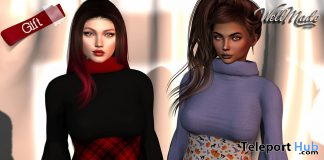Beatrix Dress October 2019 Group Gift by [WellMade] - Teleport Hub - teleporthub.com