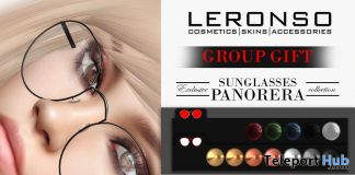 Panorera Sunglasses October 2019 Group Gift by LERONSO skins - Teleport Hub - teleporthub.com