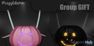 Pumpkin Bag October 2019 Group Gift by Muggleborn- Teleport Hub - teleporthub.com
